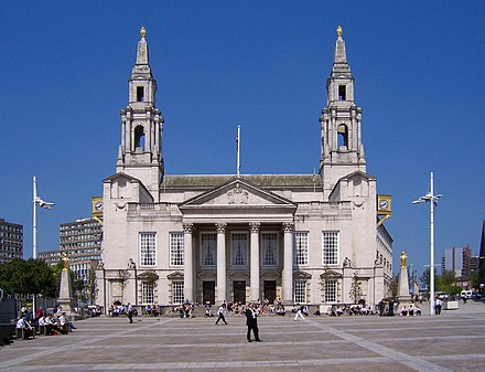 Leeds Civic Hall in Millennium Square Leeds Civic Hall.jpg