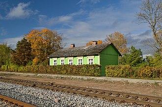 Lehtse - Image: Lehtse jaama elamu