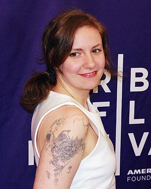Lena Dunham - Dunham at the 2012 Tribeca Film Festival