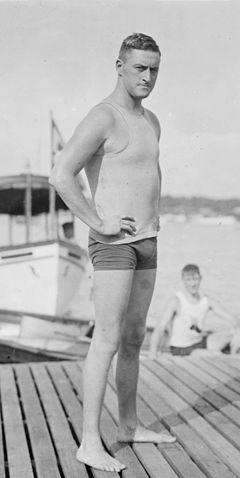Resultado de imagen de Budd Goodwin swimmer