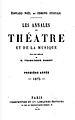 Les Annales du Théâtre et de la Musique 1876 title page - Internet Archive.jpg