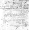 Letter on verso of portrait of W. H. Dallinger Wellcome L0012243.jpg