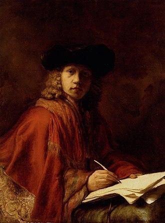 Jacob Levecq - self portrait.