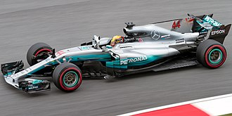 2017 FIA Formula One World Championship - Mercedes retained the Constructors' Championship for a fourth consecutive year. Pictured is the W08 EQ Power+, the car entered by the team in 2017.