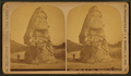 Liberty Cap, 49 feet high. Mammoth Hot Springs, by Ingersoll, T. W. (Truman Ward), 1862-1922.png