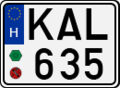 License plate Hungary 2004 square.png