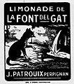 Limonade Font del Gat Perpignan 1929.jpg