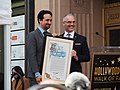 Lin-Manuel Miranda Hollywood Walk of Fame ceremony (with Los Angeles City Councilman Mitch O'Farrell) (46123910551).jpg