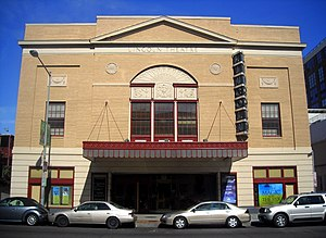 Reel Affirmations - The Lincoln Theatre in Washington, D.C., Reel Affirmations' primary venue between 1998 and 2008.