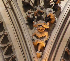 Imp - The Lincoln Imp at the Medieval Cathedral in Lincoln, England