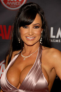 Lisa Ann på AVN Awards Show i Palms Casino Resort, Las Vegas, Nevada den 8 januari 2010