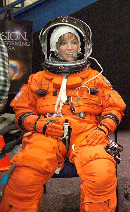 woman astronaut in diaper - 600×975