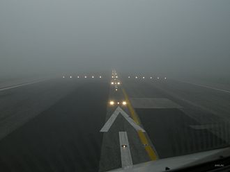 Runway visual range - Image: Lisbon's Runway 21