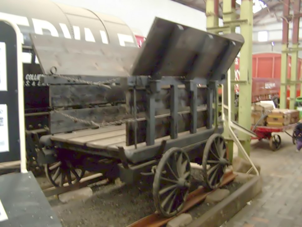 Little Eaton Tramway Replica Wagon small