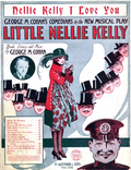 Little Nellie Kelly, cover of song-book