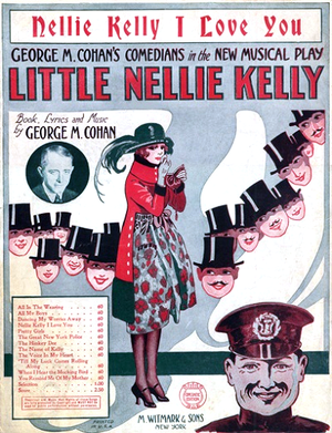Little Nellie Kelly (musical) - Cover of sheet music, 1922