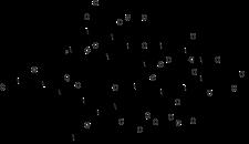 Chemický vzorec gastrinu o 17 AMK