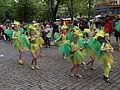 Little samba girls from Samba Maracanã at Helsinki Samba Carnaval 2015.jpg