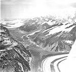 Lituya and Desolation Glaciers, fragmented connection between glaciers, August 27, 1969 (GLACIERS 5605).jpg