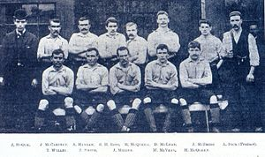 Liverpool F.C.–Manchester United F.C. rivalry - Liverpool's team during its first season, 1892–93