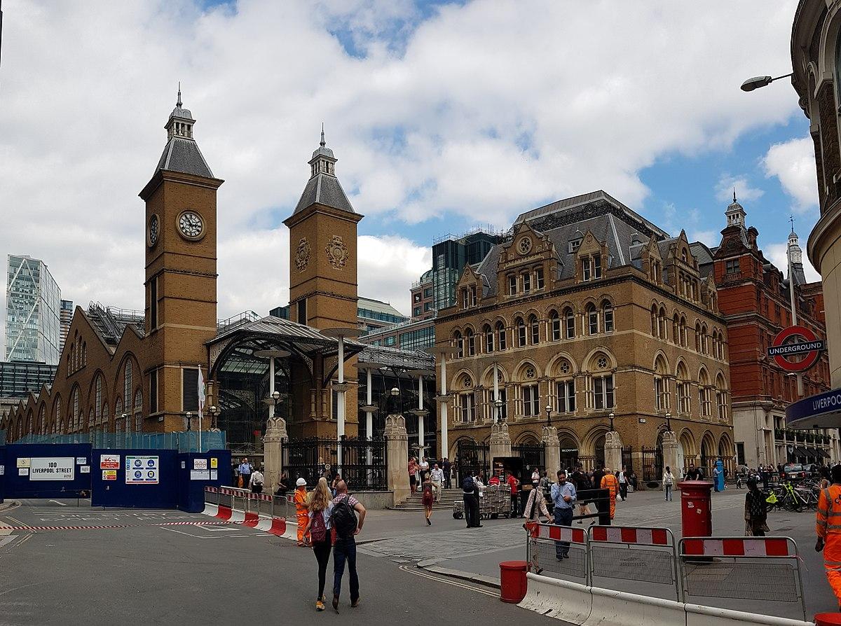 Liverpool Street station - Wikipedia