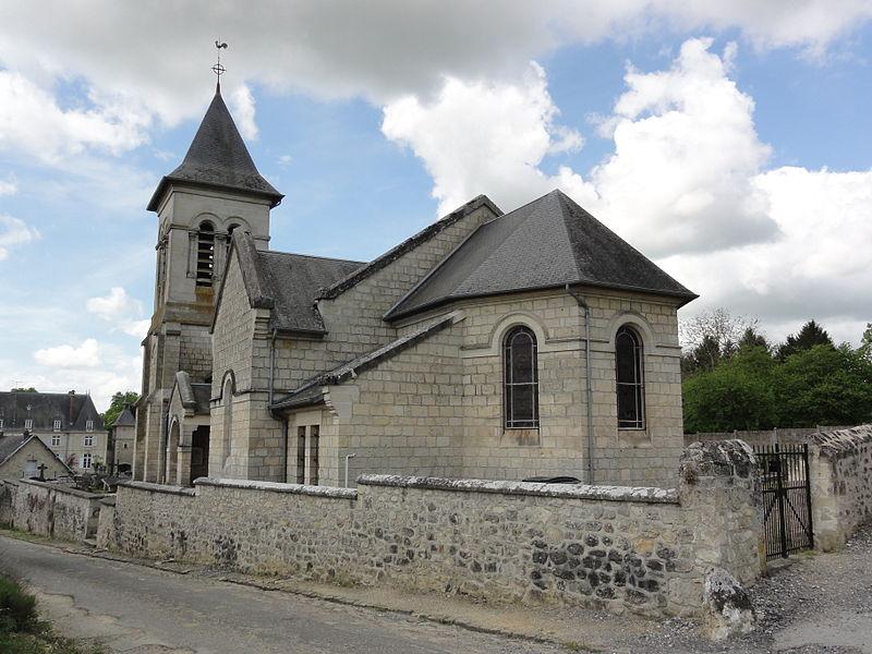 Lizy (Aisne) église