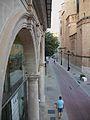Llotja del Cànem i el carrer Colom de Castelló de la Plana.jpg