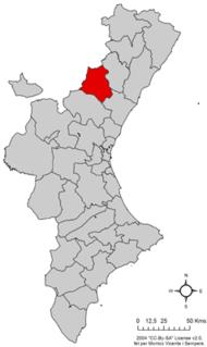 Alto Mijares Comarca in Valencian Community, Spain