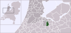 Location of Hilversum