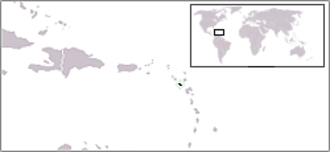 Outline of Montserrat - The location of Montserrat