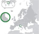 San Marino en Europa