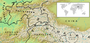 Location map Pamir mhn.svg
