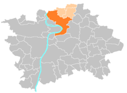 Location map municipal district Prague - Praha 8.PNG