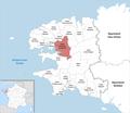 Locator map of Kanton Pont-de-Buis-lès-Quimerch 2019.png