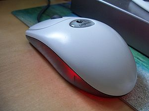 Input device - A computer mouse