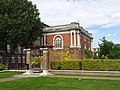 London-Woolwich, Royal Arsenal, Wellington Park, Shell Foundry Gate 01.jpg
