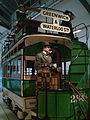 London Transport Museum Double-decker Horse drawn tram.jpg