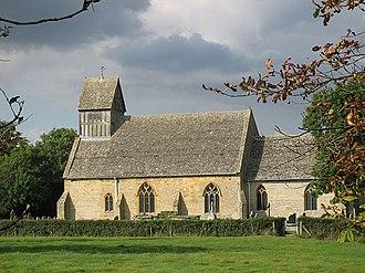 Long Marston, Warwickshire - Image: Long Marston Church geograph.org.uk 55852