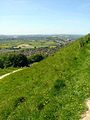 Looking down towards Glastonbury - geograph.org.uk - 183388.jpg