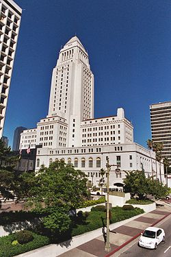 Il municipio di Los Angeles