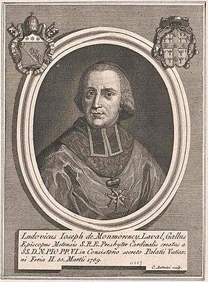 Louis-Joseph de Montmorency-Laval - Image: Louis Joseph de Montmorency Laval 1