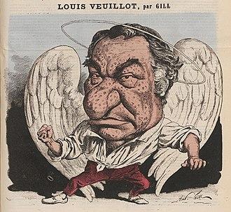 Louis Veuillot - Image: Louis Veuillot, by André Gil