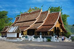 Luang Prabang - Wat Xieng Thong ordination hall.jpg
