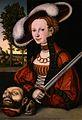 Lucas Cranach d.Ä. - Judith mit dem Haupt des Holofernes (Burrell Collection, Glasgow).jpg