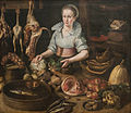 Lucas Van Valckenborch (circle of) - The Kitchen Maid.jpg