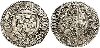 Louis of Teck - A soldo issued during Louis reign in Friuli.