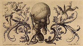 Luigi Vanvitelli - Possibly showing Luigi Vanvitelli as Apollo, carrying the world.