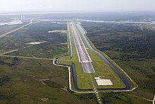 Lunar planetary landscape and runway at KSC built to test Morpheus lander.jpg