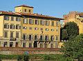 Lungarno guicciardini, palazzo guicciardini bardi (mattina) 02.JPG