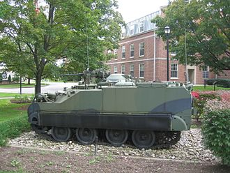 Canadian Forces College - The Canadian Forces College's Lynx Reconnaissance Vehicle